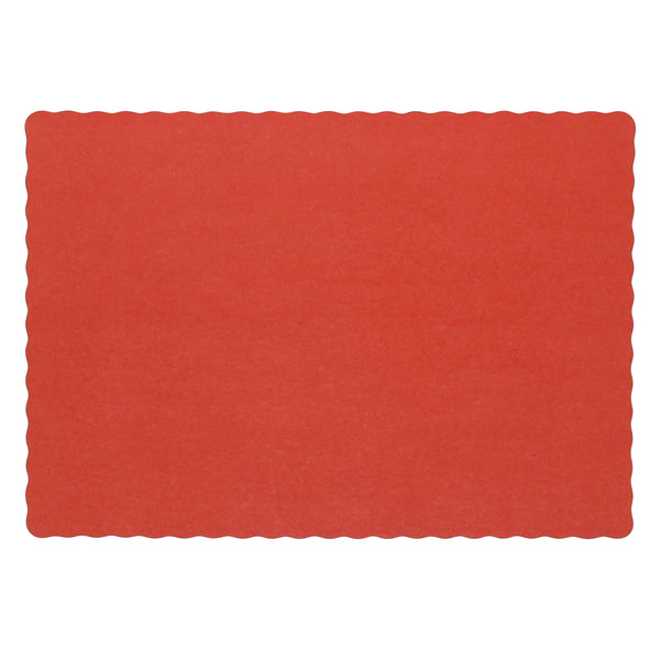 "SPM914A - Red 9.25"" x 13.25"" Placemats Sample, for Customer Service Use Only"