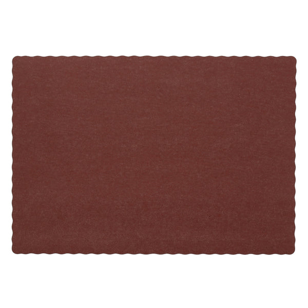 "Burgundy Placemat 9.25"" x 13.25"""