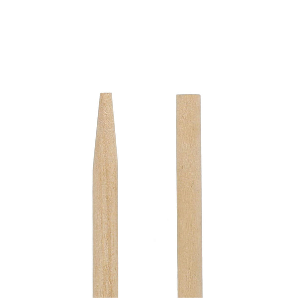 "8.5"" Thick Wood Skewer Ends"
