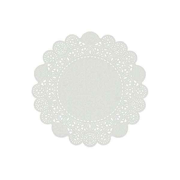 "LD6 - 6"" Disposable Paper Lace Doilies Sample, for Customer Service Use Only"