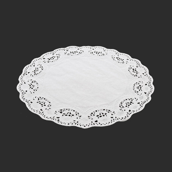 "LD9 - 9"" Disposable Paper Lace Doilies Sample, for Customer Service Use Only"