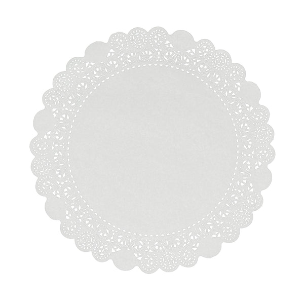 "LD14 - 14"" Disposable Paper Lace Doilies Sample, for Customer Service Use Only"