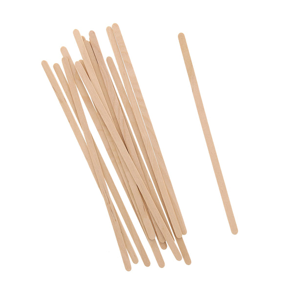 "7.5"" Wood Coffee Stirrers"