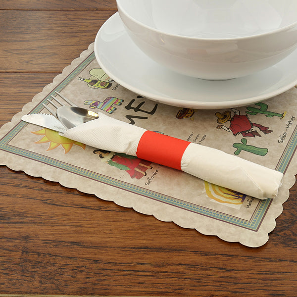 Mexican Fiesta Placemat with Table Setting