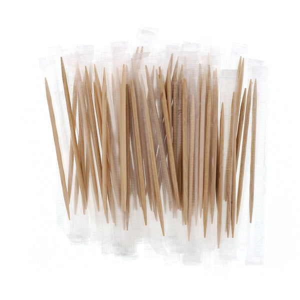 Plain Individual Cello Wrapped Toothpicks