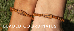Beaded coordinates set collection