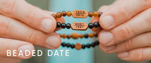Beaded date set collection