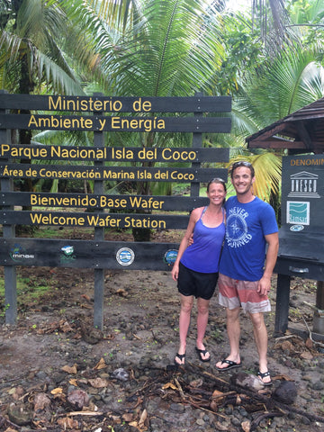 Bryce & Charissa at Cocos Island