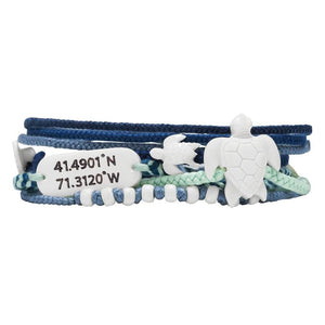 Sea Turtle Bracelet Set