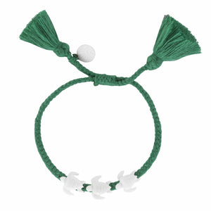 Sea Green Tassel 3