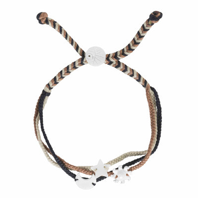Sun Moon Star Trio Bracelet
