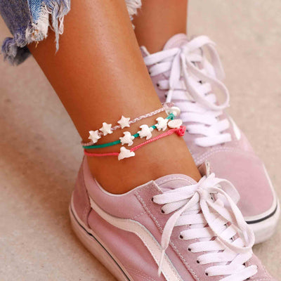 Anklet 3-pack Bright Siren