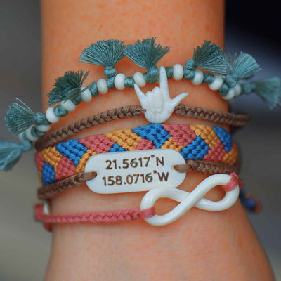 Love You Always Coordinates Bracelet Set
