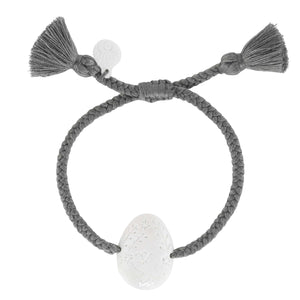 Butterfly Gray Tassel