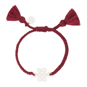Ruby Red Tassel