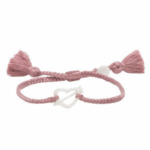 Dusty Rose Tassel