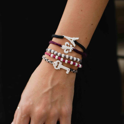 I Heart Paris Bracelet Set