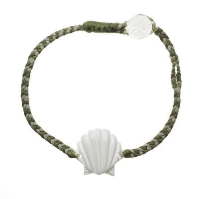 Scallop Shell Bracelet- Last Chance Color