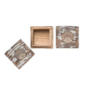 Engravable Square Wanderer Keepsake Box