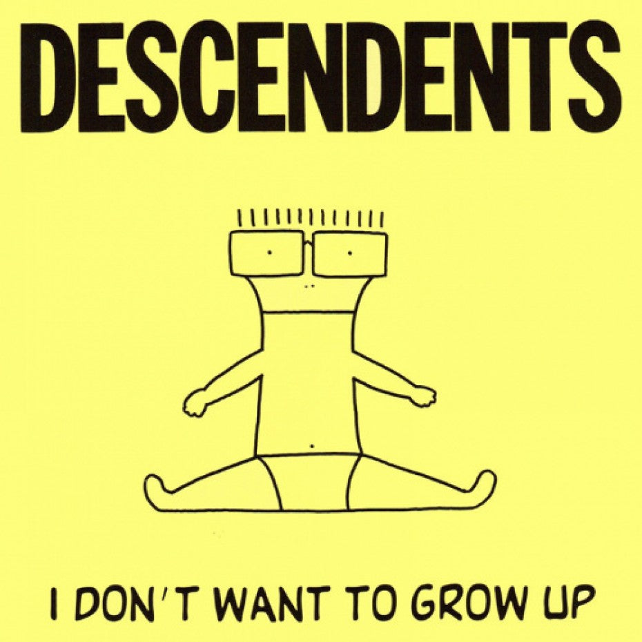 DESCENDENTS 'I Don't Wanna Grow Up' LP