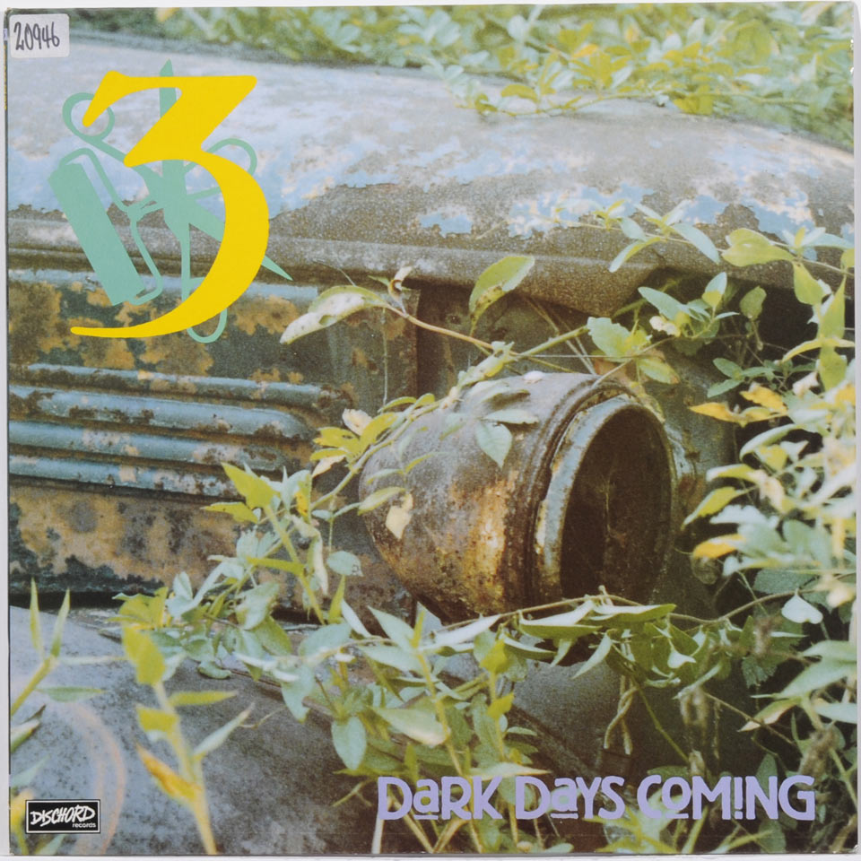 THREE 'Dark Days Coming' LP