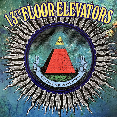 13TH FLOOR ELEVATORS 'Rockius Of Levitatum' LP