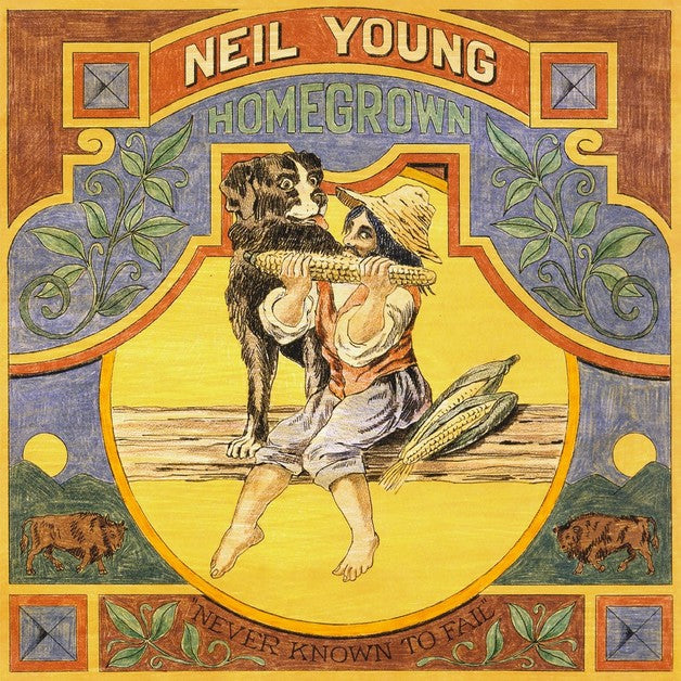 NEIL YOUNG 'Homegrown' LP