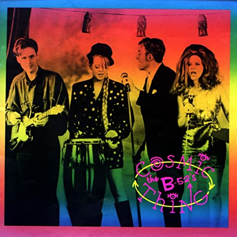 THE B-52'S 'Cosmic Thing' LP