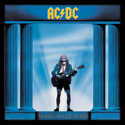AC/DC 'Who Made Who' LP