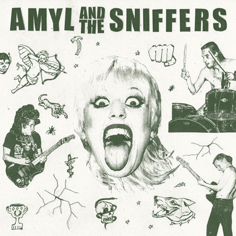 AMYL & THE SNIFFERS 'S/t' LP