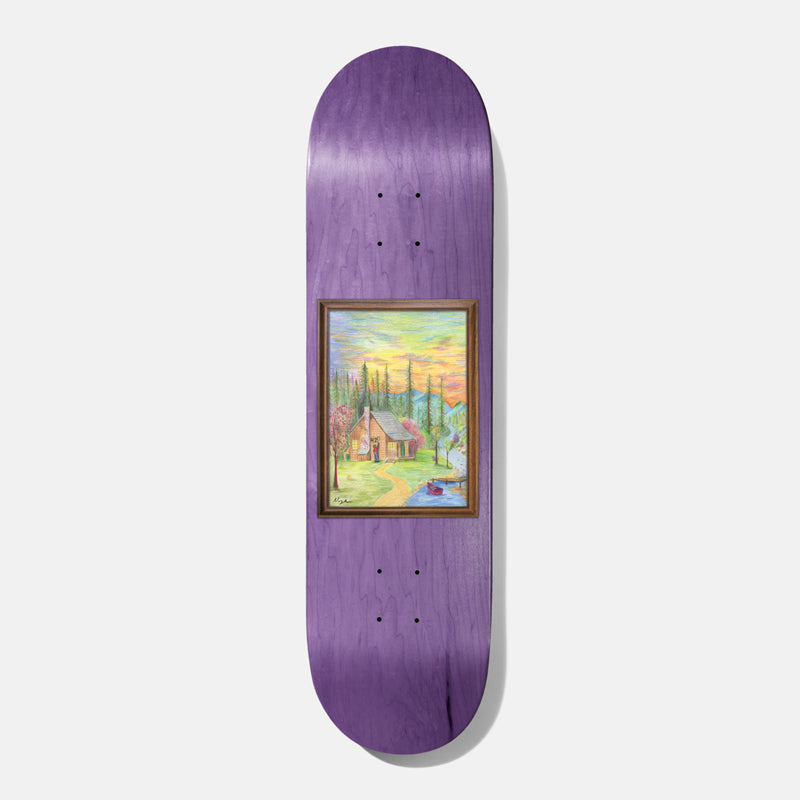 BAKER 'Nuge Woodland Escape' Skateboard Deck 8.0""