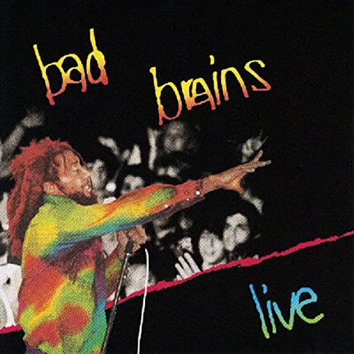 BAD BRAINS 'Live' LP