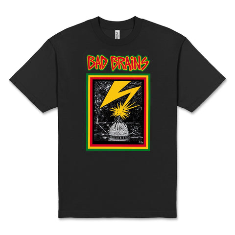BAD BRAINS 'Capitol' T-Shirt (Black)