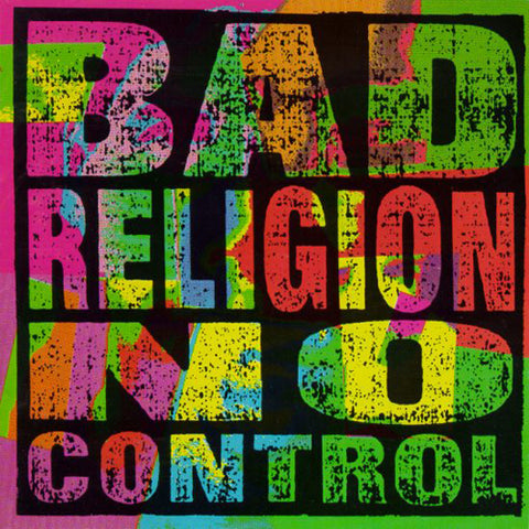 BAD RELIGION 'No Control' LP