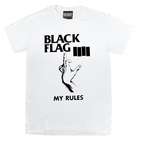 BLACK FLAG 'My Rules' T-Shirt