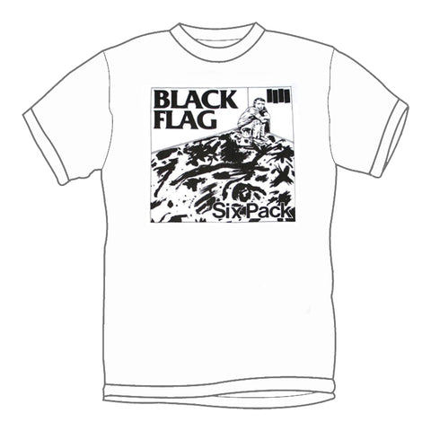 BLACK FLAG 'Six Pack' T-Shirt
