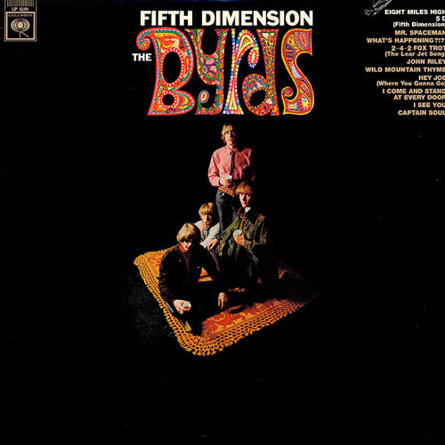 THE BYRDS 'Fifth Dimension' LP