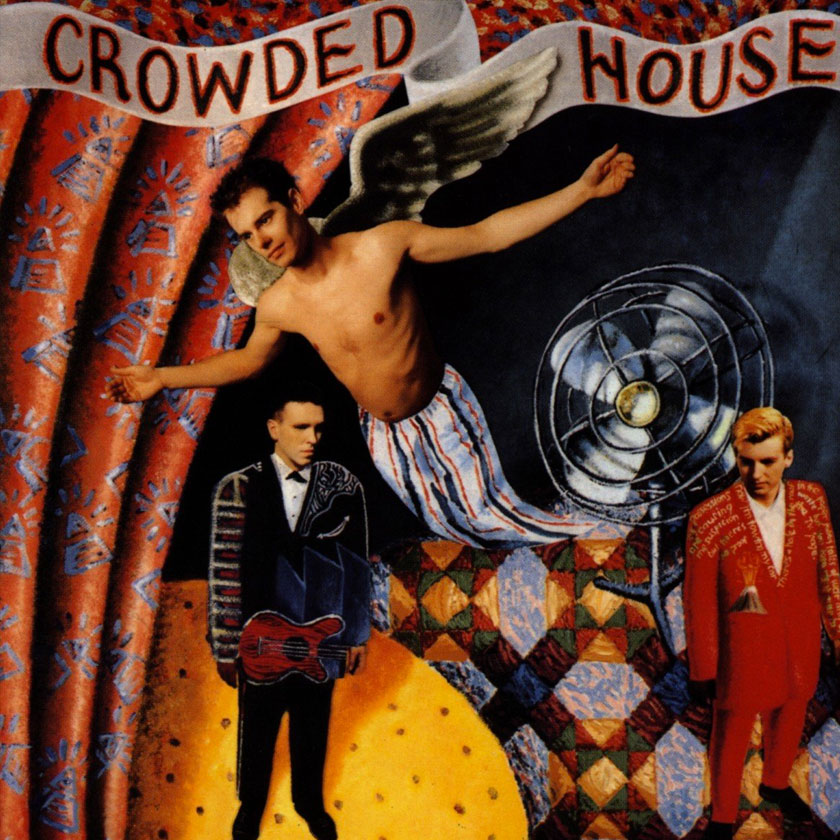 CROWDED HOUSE 'Crowded House' LP