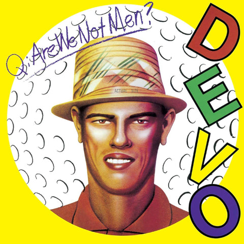 DEVO 'Q. Are We Not Men?' LP