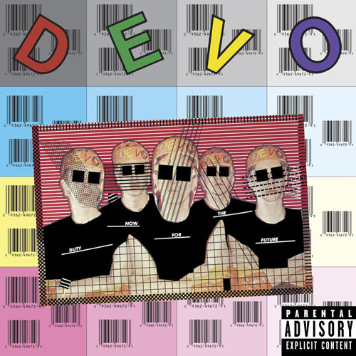DEVO 'Duty Now For The Future' LP