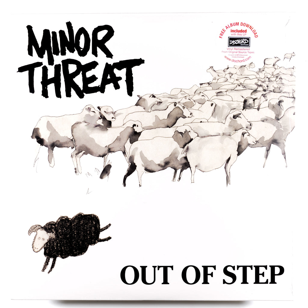 MINOR THREAT 'Out Of Step' LP