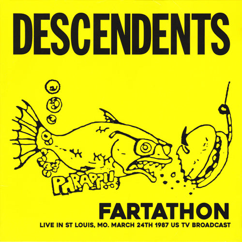 DESCENDENTS 'Fartathon - Live In St Louis 1987' LP