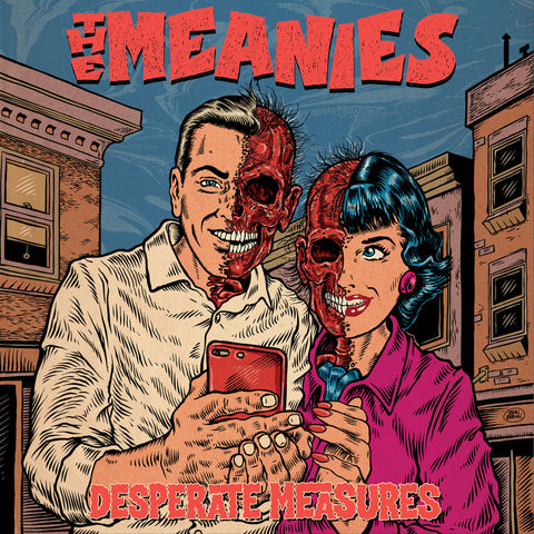 THE MEANIES 'Desperate Measures' LP