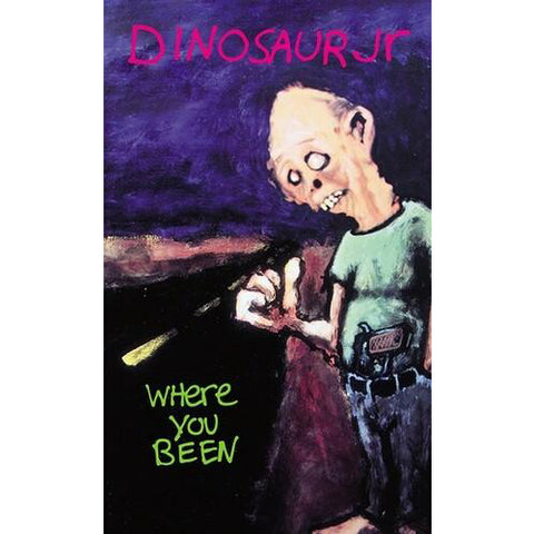 DINOSAUR Jr 'Where You Been' Tape