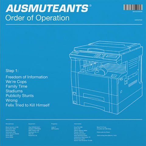 AUSMUTEANTS - 'Order Of Operation' LP