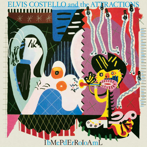 ELVIS COSTELLO & THE ATTRACTIONS 'Imperial Bedroom' LP