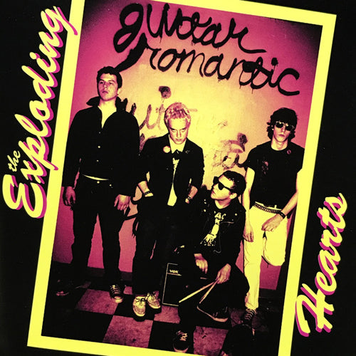 THE EXPLODING HEARTS 'Guitar Romantic' LP