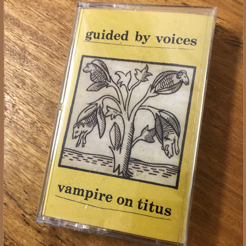 GUIDED BY VOICES 'Vampire On Titus' Cassette Tape