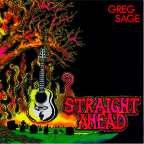 GREG SAGE (Wipers) 'Straight Ahead' LP