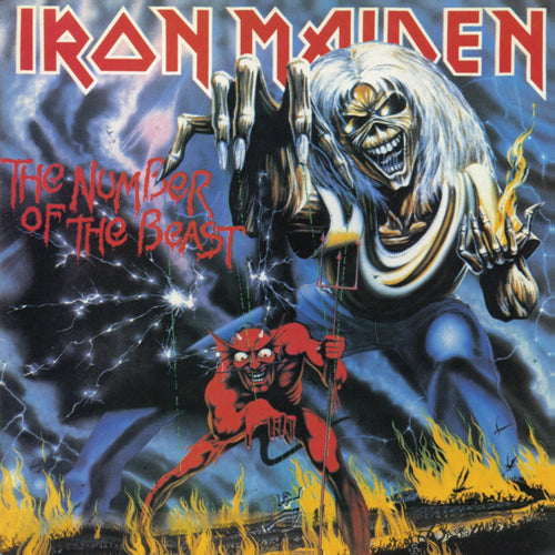 IRON MAIDEN 'Number Of The Beast' LP